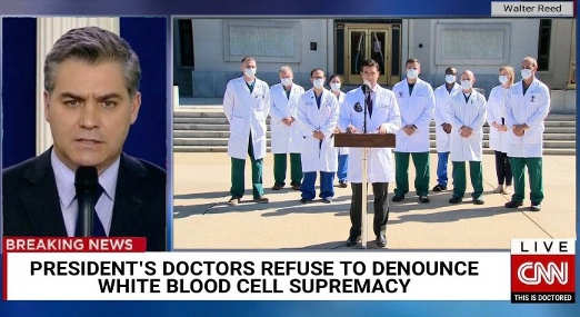 Cnn acosta trump doctors wont condemn white blood cell supremacy