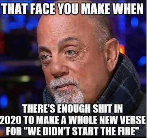 billy joel face you make enough 2020 whole new verse we didnt start the fire