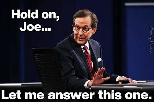 chris wallace hold on joe biden let me answer this one