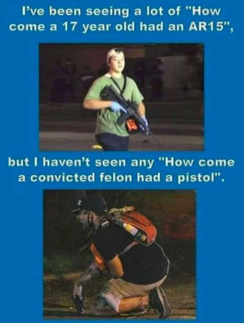 how 17 year old have gun how convicted felon had pistol