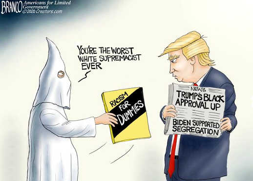 kkk racism for dummies youre worst white supremacist ever trump approval up