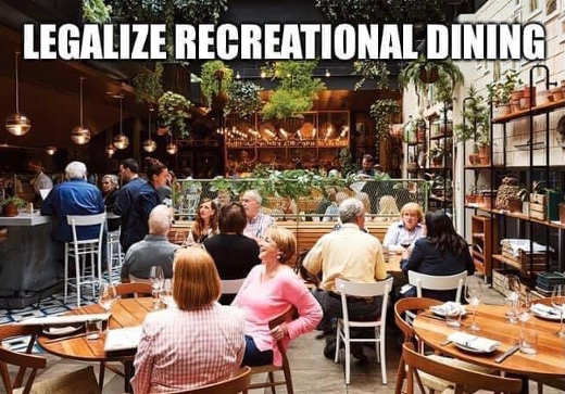 legalize recreational dining