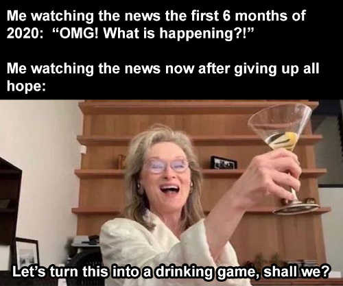 me watching first 6 months omg now lets turn into drinking game