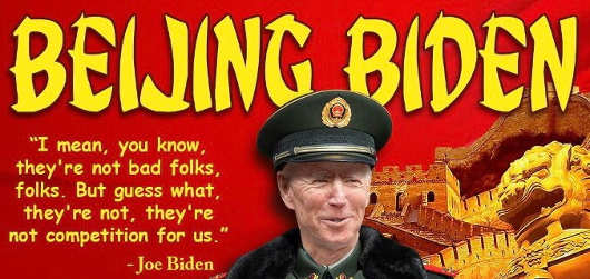 quote beijing biden china not bad not competition