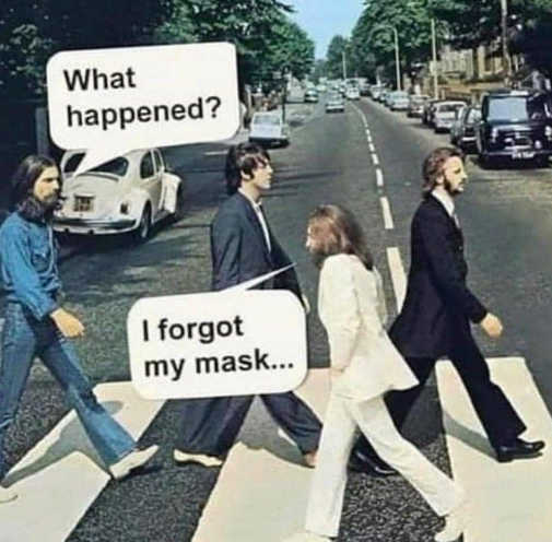 bee gees road what happened i forgot my mask