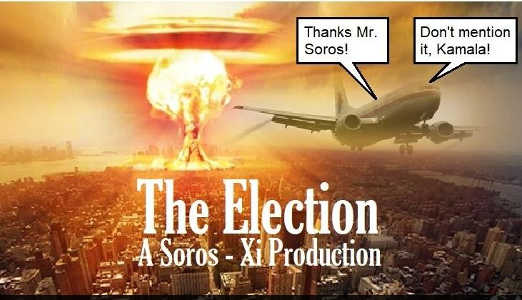 the election 2020 a george soros production bomb thanks kamala