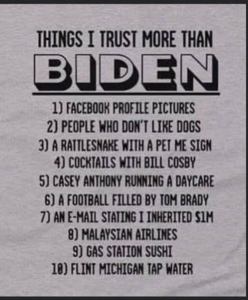 things I trust more than biden facebook profile pictures gas station sushi
