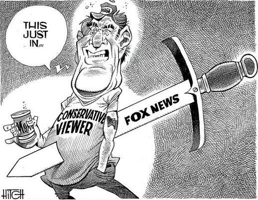 this just in fox news stabbing conservative viewers