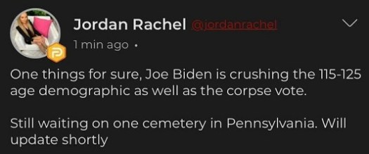 tweet jordan rachel joe biden crushing 115-125 age demographic