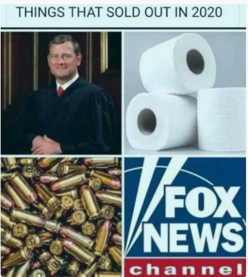 Things that sold out 2020 bullets tp john roberts fox news channel