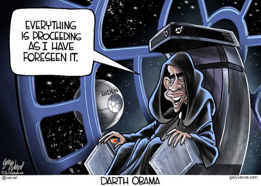darth barack obama everything is proceeding as i have foreseen biden death star