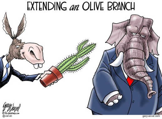 liberal democrats extend olive branch cactus to republicans