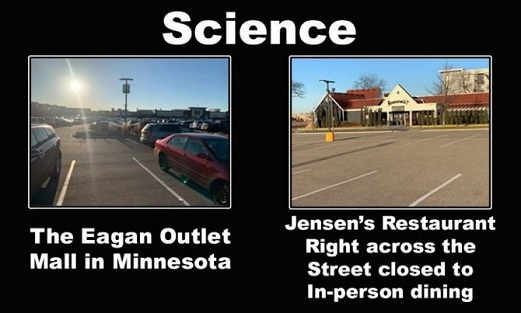 minnesota mall open restaurant closed covid science
