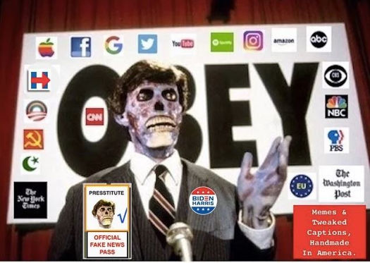 they live obey facebook google twitter abc cnn cbs msnbc nyt hillary wash post youtube