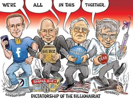 were all in this together soros censorship facebook globalism fear