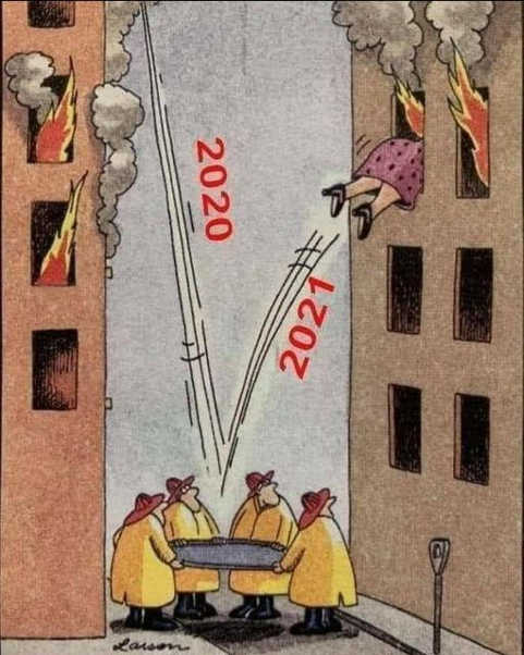 2020 fireman trampoline building 2021