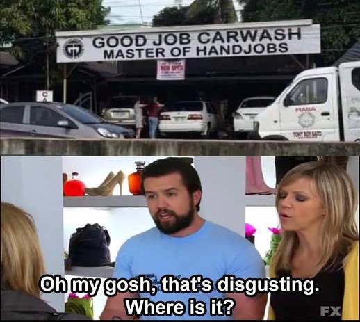 Good handjob car wash disgusting where sunny philadelphia