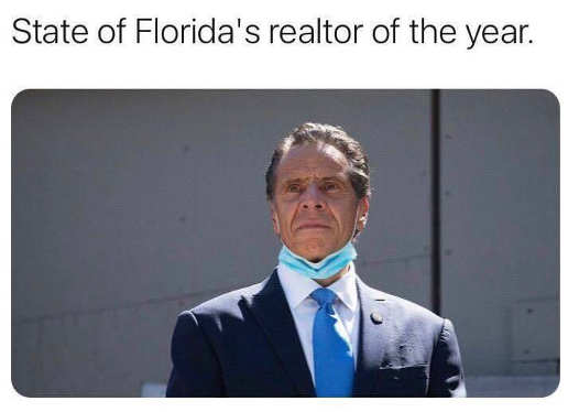 andrew cuomo state of florida realtor of the year