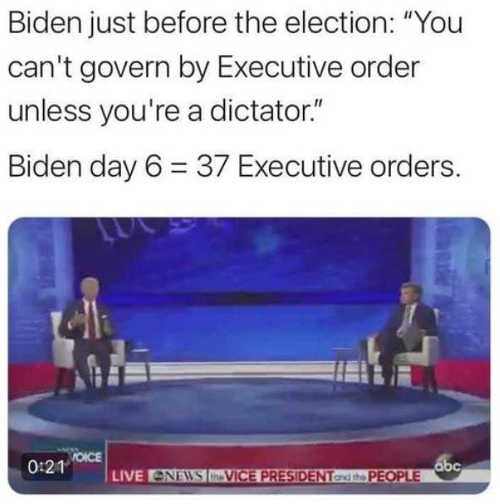 quote biden you cant govern by executive order
