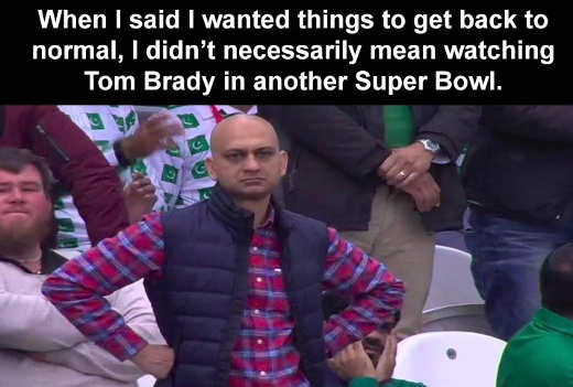 back to normal not watching tom trady in super bowl