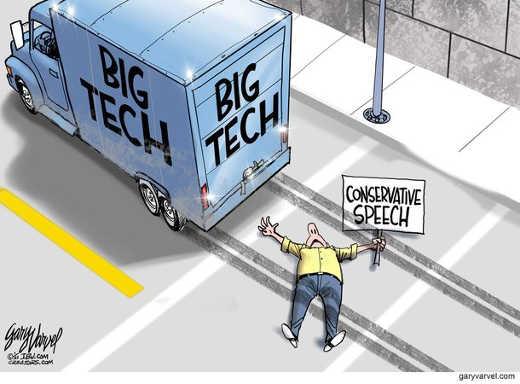 big tech running over conservative speech