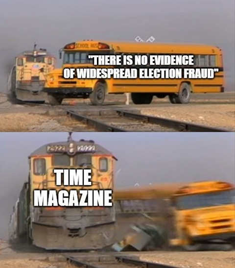 bus no evidence widespread election fraud time magazine train