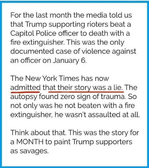 fire extinguisher lie capitol police new york times story lie