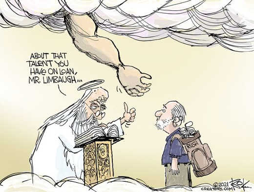 god about talent you have on loan rush limbaugh