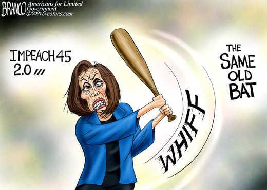 impeach 45 same old bat pelosi