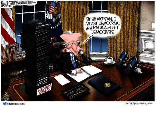 joe biden bipartisan radical left and democrats