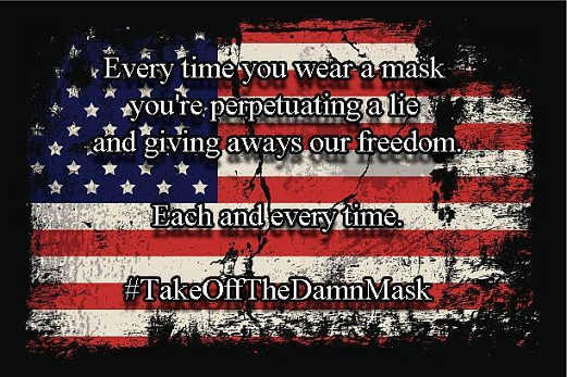 message mask perpetuating lie giving freedom takeoffdamnmask