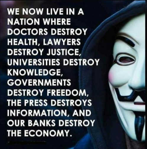 message we now live in nation doctors destroy health governments freedom press information