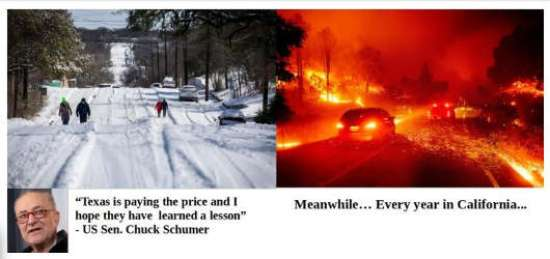quote chuck schumer texas paying price meanwhile every year in california