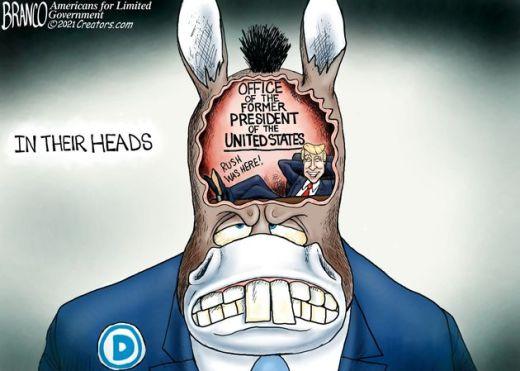 rush limbaugh donald trump living inside democrat heads