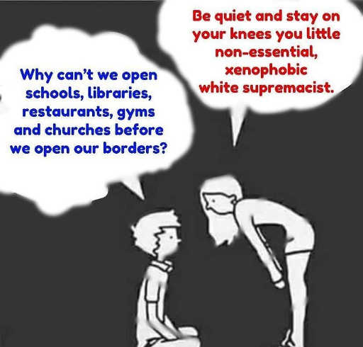 why cant schools libraries open quiet on your knees white supremacist