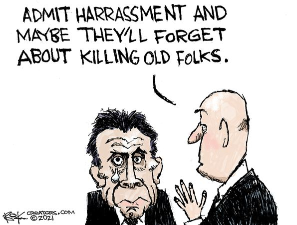 andrew cuomo admit sexual harrassment will forget killing old people