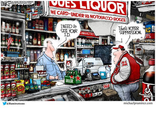 buying liquor need your id voter suppression