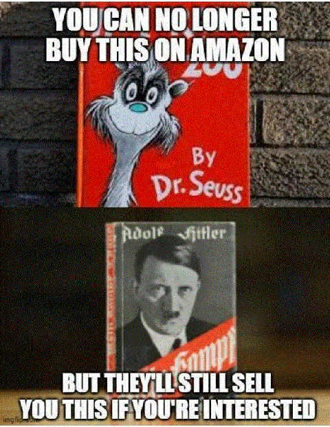 cant buy dr seuss on amazon mein kampf hitler still available