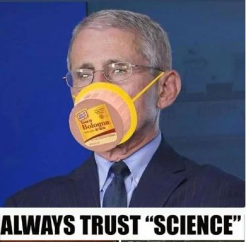 dr fauci bologna mask always trust science