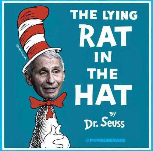 dr seuss fauci lying rat in the hat