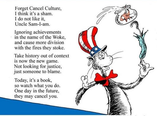 dr seuss poem cancel culture