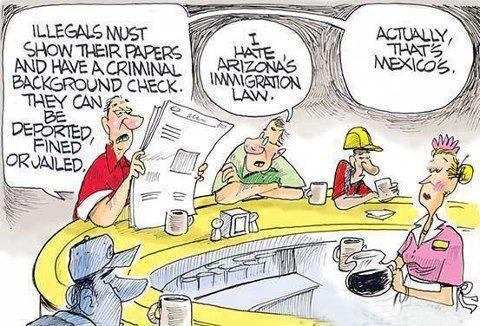 mexico immigration laws compared to arizona