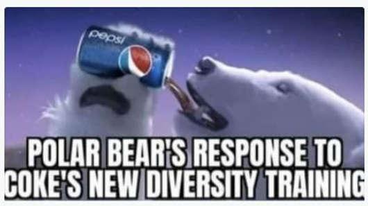 polar bears response code new diversity drink pepsi
