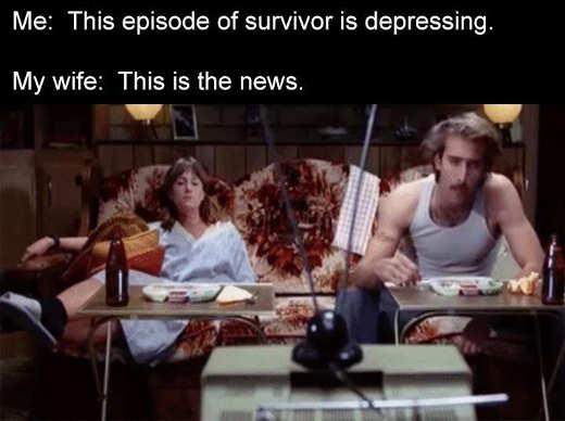 raising arizona episode survivor the news