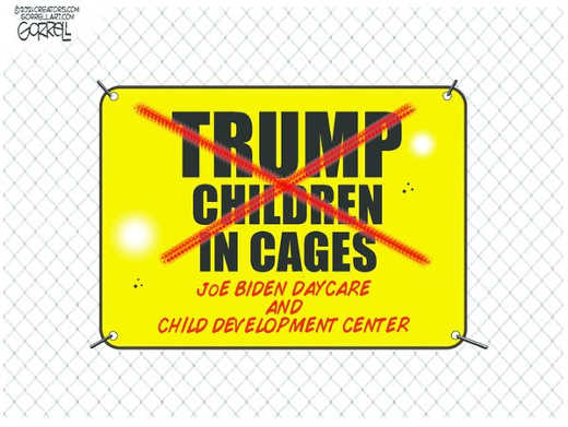 trump children cages joe biden daycare development center