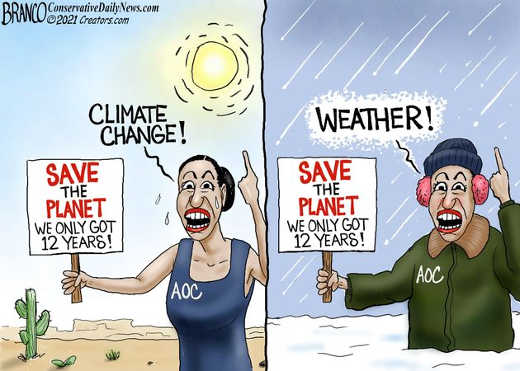 aoc climate change only 12 years save planet winter weather