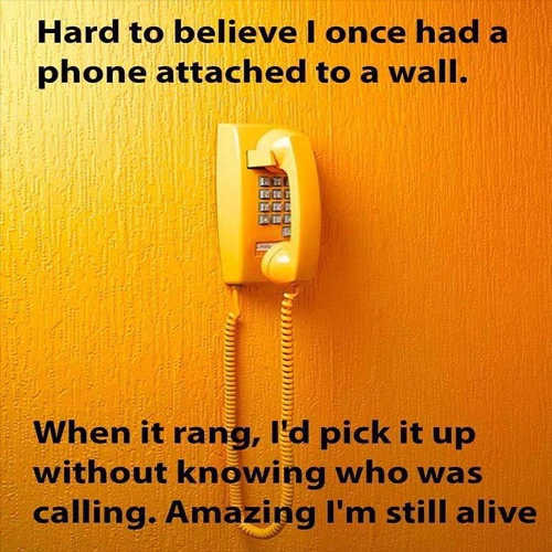 house not knowing ring roterie wall phone alive