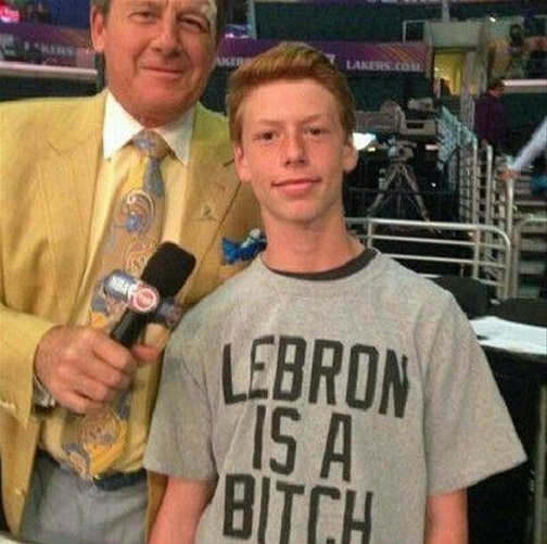 kid tshirt lebron james is a bitch