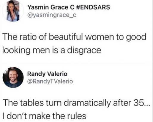 tweet tasmkn ration men women looking good