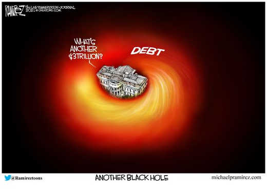 whats another 3 trillion black hole dc national debt